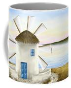 Windmill Coffee Mug by Veronica Minozzi