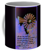Windmill With Lincoln Quote Coffee Mug