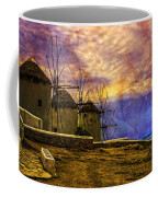Windmills In Mykonos Coffee Mug
