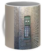 Window Against The Wall Coffee Mug