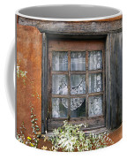 Window At Old Santa Fe Coffee Mug