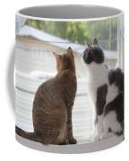 Window Cats Coffee Mug