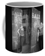 Window Display Sale With Mannequins No.1292 Coffee Mug