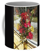 Window Flowers Coffee Mug