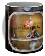 Window - Hoboken Nj - Hale And Hearty Soups  Coffee Mug by Mike Savad