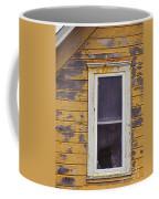 Window In Abandoned House Coffee Mug by Jill Battaglia