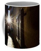 Window In An Alley With Sunlight Coffee Mug