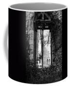Window Of Haunted Abbey Coffee Mug