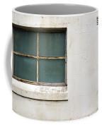 Window On Concrete Coffee Mug