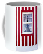 Window On Stripes Coffee Mug by Carlos Caetano