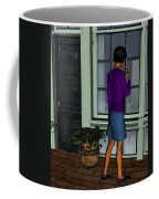 Window Shopper Coffee Mug
