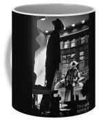 Window Shopping Cowboy Coffee Mug