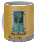 Window Shutter Coffee Mug
