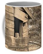 Window To Nowhere - Sepia Coffee Mug