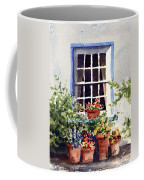 Window With Blue Trim Coffee Mug