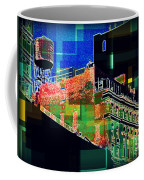 Windows And Watertower Coffee Mug