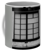 Windows Of Brooklyn In Black And White Coffee Mug