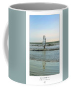 Windsurfing Art Poster - California Collection Coffee Mug