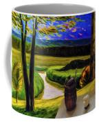 Windy Autumn With Still Life 05 Coffee Mug