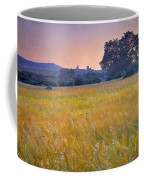 Windy Sunset At The Medieval Castle Coffee Mug