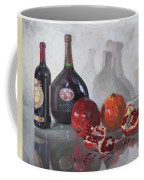 Wine And Pomegranates Coffee Mug