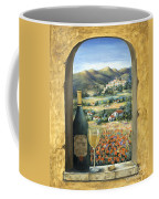 Wine And Poppies Coffee Mug