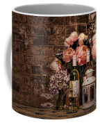 Wine And Roses Coffee Mug