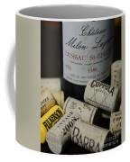 Wine And Wine Corks Coffee Mug by Paul Ward