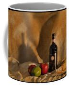 Wine Apples And Cheese Coffee Mug