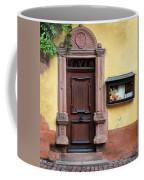 Wine Bar Door Coffee Mug