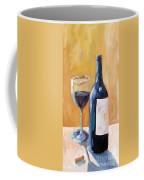 Wine Bottle Still Life Coffee Mug by Todd Bandy