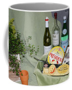 Wine Cheese And Crackers Coffee Mug