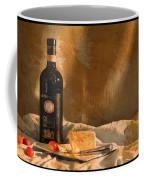 Wine Cherries And Cheese Coffee Mug