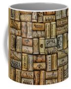 Wine Corks After The Wine Tasting Coffee Mug by Paul Ward