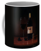 Wine Glass And Bottle Coffee Mug