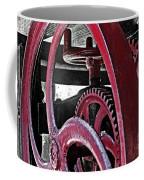 Wine Press Gears Coffee Mug