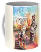 Wine Vendor In A Provence Market Coffee Mug