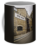Wine Wharf Coffee Mug by Heather Applegate