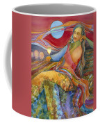 Wine Woman And Song Coffee Mug by Jen Norton