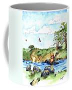Imagining The Hunny  After E  H Shepard Coffee Mug