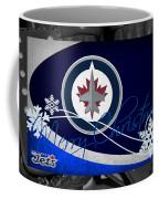 Winnipeg Jets Christmas Coffee Mug