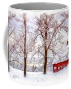 Winter Arrives Watercolor Coffee Mug