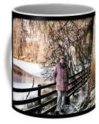 Winter At Frozen Lochside Coffee Mug
