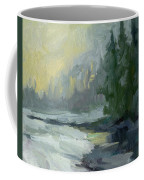 Winter At Gold Creek Coffee Mug