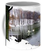 Winter At Oakland Lake Coffee Mug