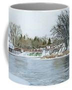 Winter At Phelps Mill Coffee Mug