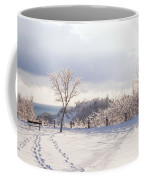 Winter At Scarborough Bluffs Coffee Mug