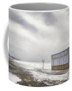 Winter At The Cabana Coffee Mug