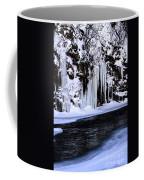 Winter At The Creek Coffee Mug