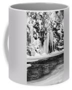 Winter At The Creek Monochrome Coffee Mug